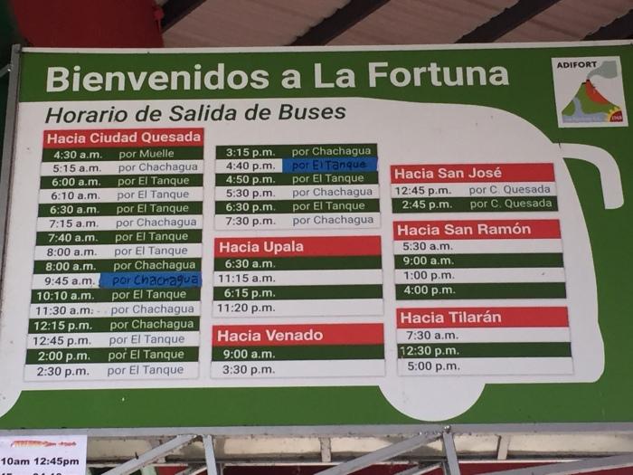 La Fortuna | Costa Rica By Bus